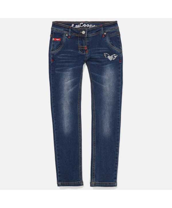 Jeans slim fille Lee Cooper du 2 au 5...