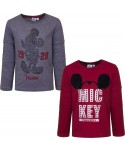 T-shirt manches longues Mickey du 3 au 8 ans Mickey - 1