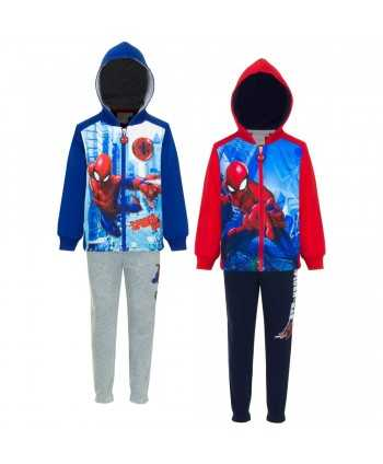 Ensemble jogging Spiderman...