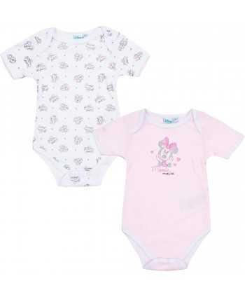 Pack 2 bodys Minnie du 6 au 24 mois Minnie - 1