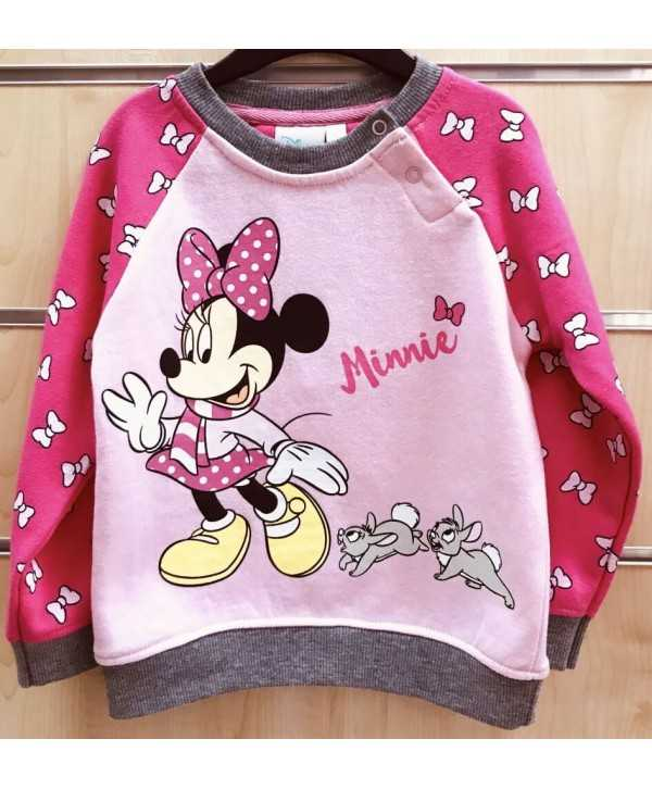 Sweat bébé minnie du 6 au 24 mois Minnie - 1