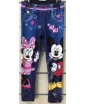 Legging Minnie effet jean Minnie du 3 au 8 ans Minnie - 1