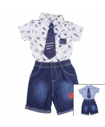Ensemble 3 pieces Tom Kids du 3 au 24 mois  - 1