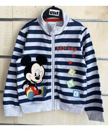 Sweat zip Mickey bébé du 6...