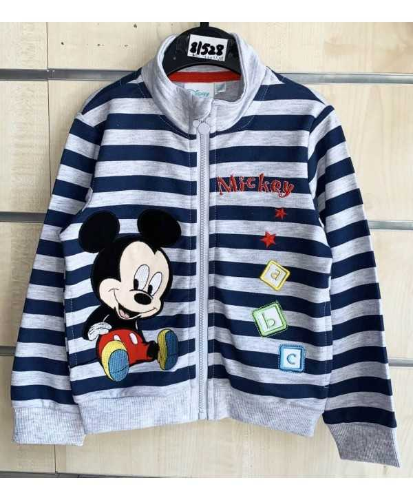 Sweat zip Mickey bébé du 6 au 24 mois