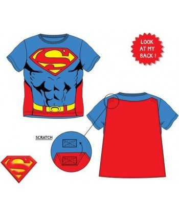 T-shirt Superman avec cape du 3 au 8 ans Superman - 1