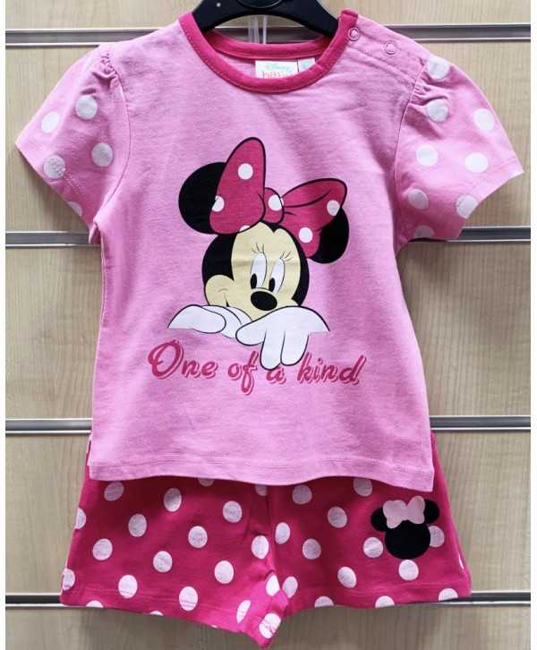 Ensemble T-Shirt + Short bébé Minnie du 6 au 23 mois Minnie - 1