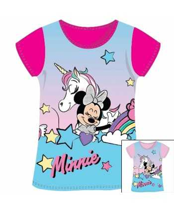 T-shirt manches courtes Minnie Licorne du 2 au 6 ans Minnie - 1