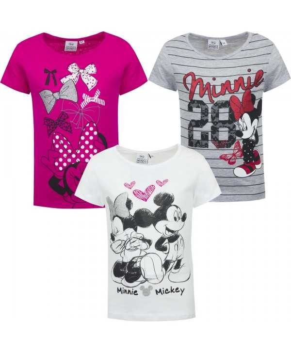 T-shirt enfant Disney Minnie du 3 au 8 ans Minnie - 1