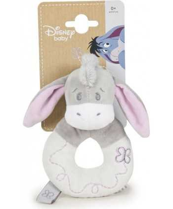Peluche Hochet Disney Bourriquet 14cm Winnie L'ourson - 1