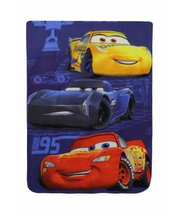 Plaid Cars 3, dim 100cm x 140cm CARS - 1