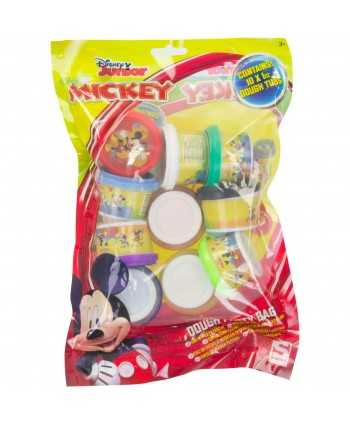 Boîte de 10 pâtes à modeler Mickey party bag Mickey - 1
