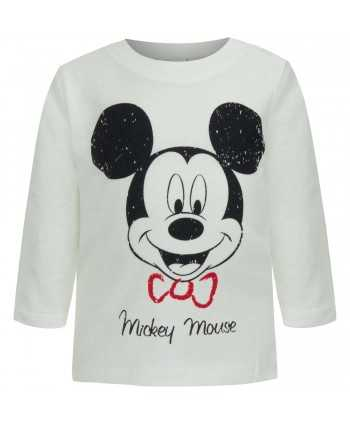 T-shirt manches longues Mickey du 12 au 36 mois Mickey - 3