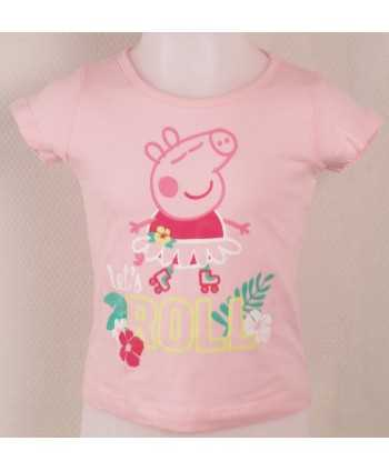 T-Shirt Peppa Pig Rose clair du 3 au 6 ans Peppa Pig - 1