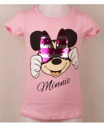 T-shirt Minnie avec sequins réversible du 3 au 8 ans Minnie - 2
