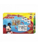 Puzzle à colorier 24 pièces double face Mickey Mickey - 1