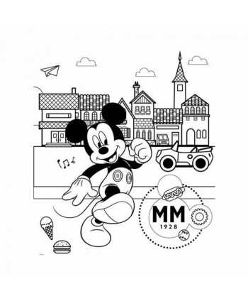 Puzzle à colorier 24 pièces double face Mickey Mickey - 4