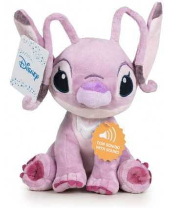 Peluche Disney Lilo & Stitch Angel avec son 30cm  - 1