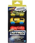 Lot 3 voitures en mousse Nerf Nitro  - 3