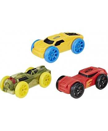 Lot 3 voitures en mousse Nerf Nitro  - 4