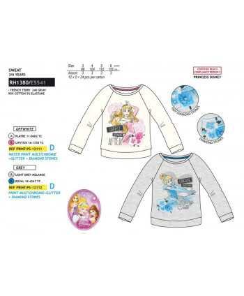 Sweat Princesse du 3 au 6 ans Princesse Disney - 1