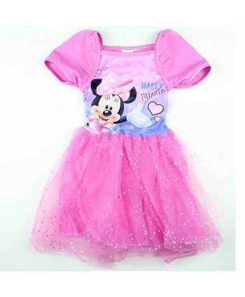 Robe Minnie du 4 au 9 ans