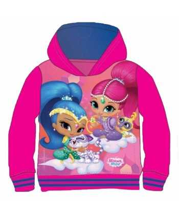 Sweat avec capuche Shimmer and Shine du 3 au 8 ans  - 1