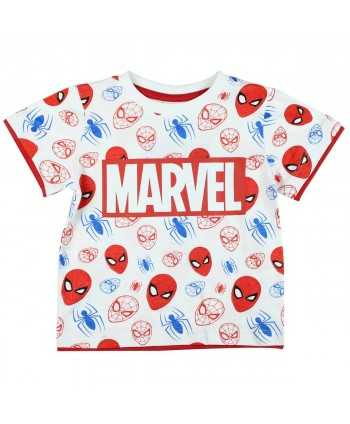 T-shirt manches courtes Spiderman du 2 au 8 ans Spiderman - 1