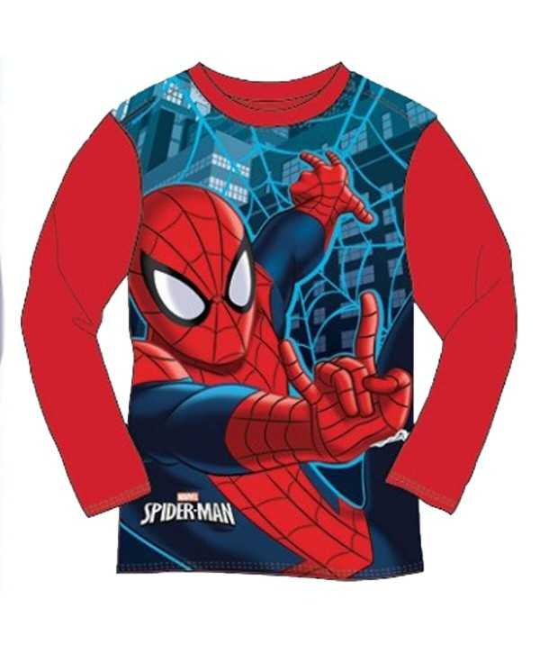 T-shirt manches longues Spiderman du...