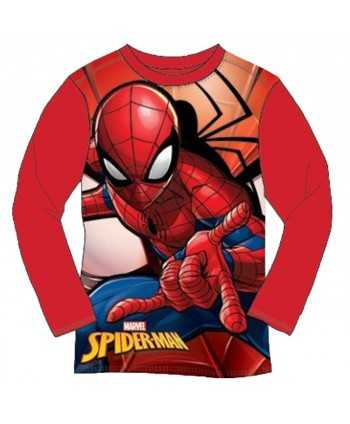 T-shirt manches longues Spiderman du 3 au 8 ans Spiderman - 1