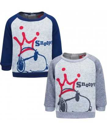 Sweat Snoopy du 6 au 24 mois  - 1