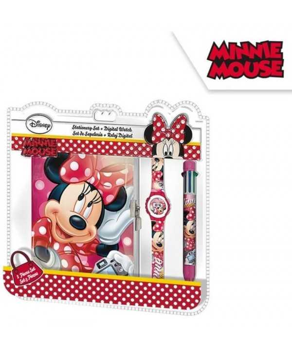 Set montre, agenda et stylo Minnie